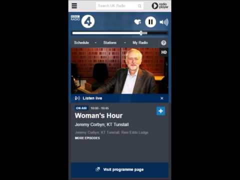 Jeremy Corbyn's appearance on Woman's Hour (unedited)
