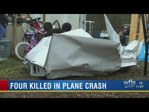 Plane takes off in Kissimmee, crashes in Alabama; family of 4 killed
