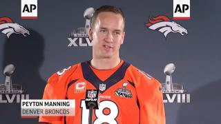 While Denver Broncos quarterback Peyton Manning talked about throwing 'ducks', Seattle Seahawks runn
