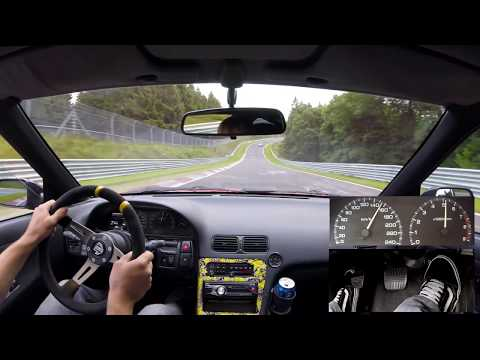 Nissan 200SX S13 Nordschleife Onboard Foot Cam 21.08.2017 日産 ニュルブルク