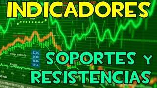 Forex y CFDs - Indicador de SOPORTES/RESISTENCIAS (Multi TimeFrame) MT4