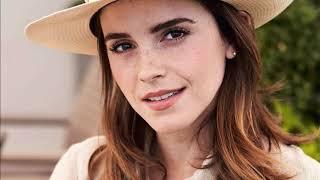 Emma Watson attends day twelve of the Wimbledon Tennis championships