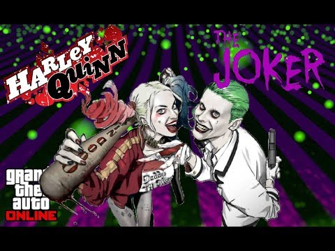 THE JOKER & HARLEY QUINN| Halloween Outfit Tutorial 1.41! | (GTA 5 Outfits) Suicide Squad Look
