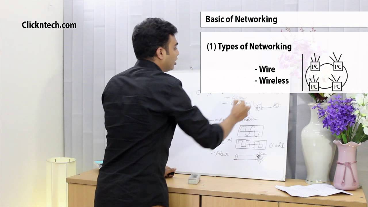 Types of networks & Communication Media । Networking Tutorial - YouTube