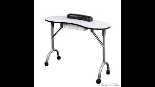 Складной маникюрный стол ZD 9200