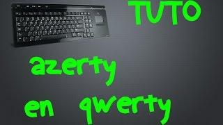 comment mettre son clavier en qwerty