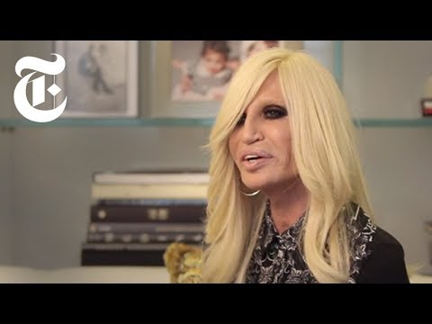 Donatella Versace Interview | In The Studio | The New York T