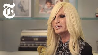 Donatella Versace Interview | In The Studio | The New York Times Video