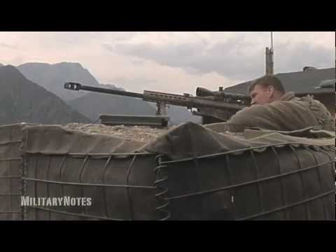 Hunting for Taliban - Barrett M107 .50 BMG Rifle & Mk211 RAUFOSS