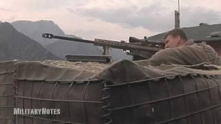 Hunting for Taliban - Barrett M107 .50 BMG Rifle u0026 Mk211 RAUFOSS
