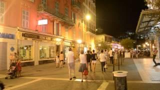 アキーラさん夜の散策②フランス・ニース市街,city,Nice,France