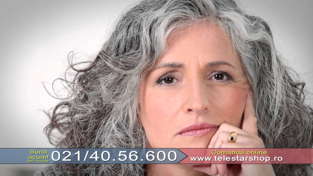 Stop Gray Hair Metoda Care Reda Parului Carunt Culoarea Naturala