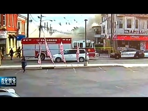 Explosion That Destroyed Portland Building Caught On Video!