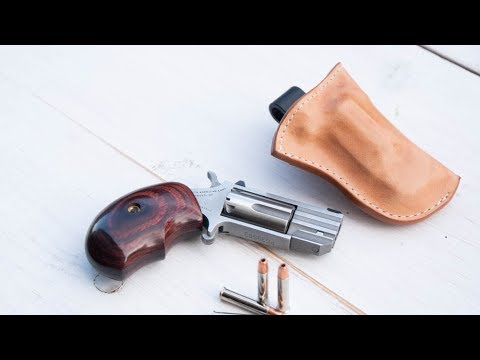 Making a Leather Holster - North American Arms Mini Revolver