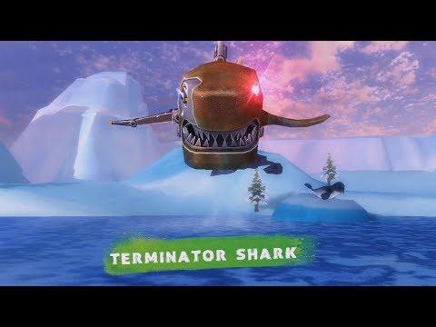 UNLOCK Terminator Shark in Double Head Shark Attack - Multiplayer
