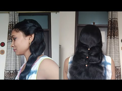 2 Very Easy Hairstyles For Navratri Specialvery Beautiful