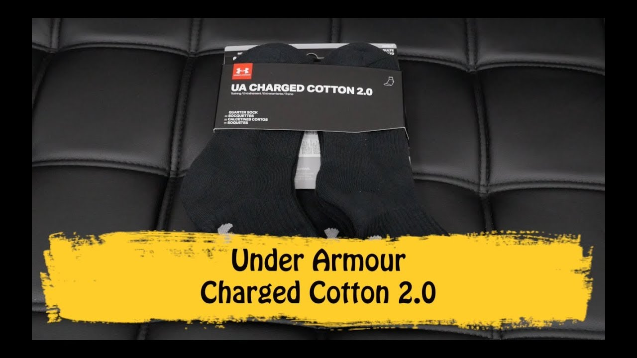 Under Armour Charged Cotton 2.0 - YouTube