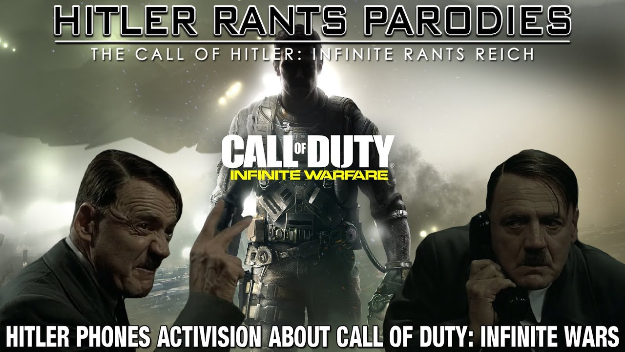 Hitler phones Activision about: Call of Duty Infinite Wars