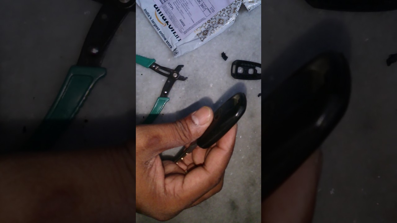 Tata indigo manza key with immobilizer shell replacement