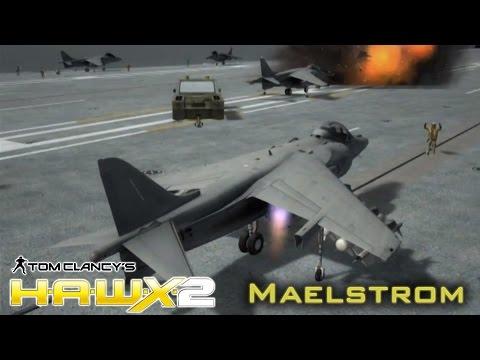 """Tom Clancy's H.A.W.X. 2. Mission 17 """"Maelstrom"""""""