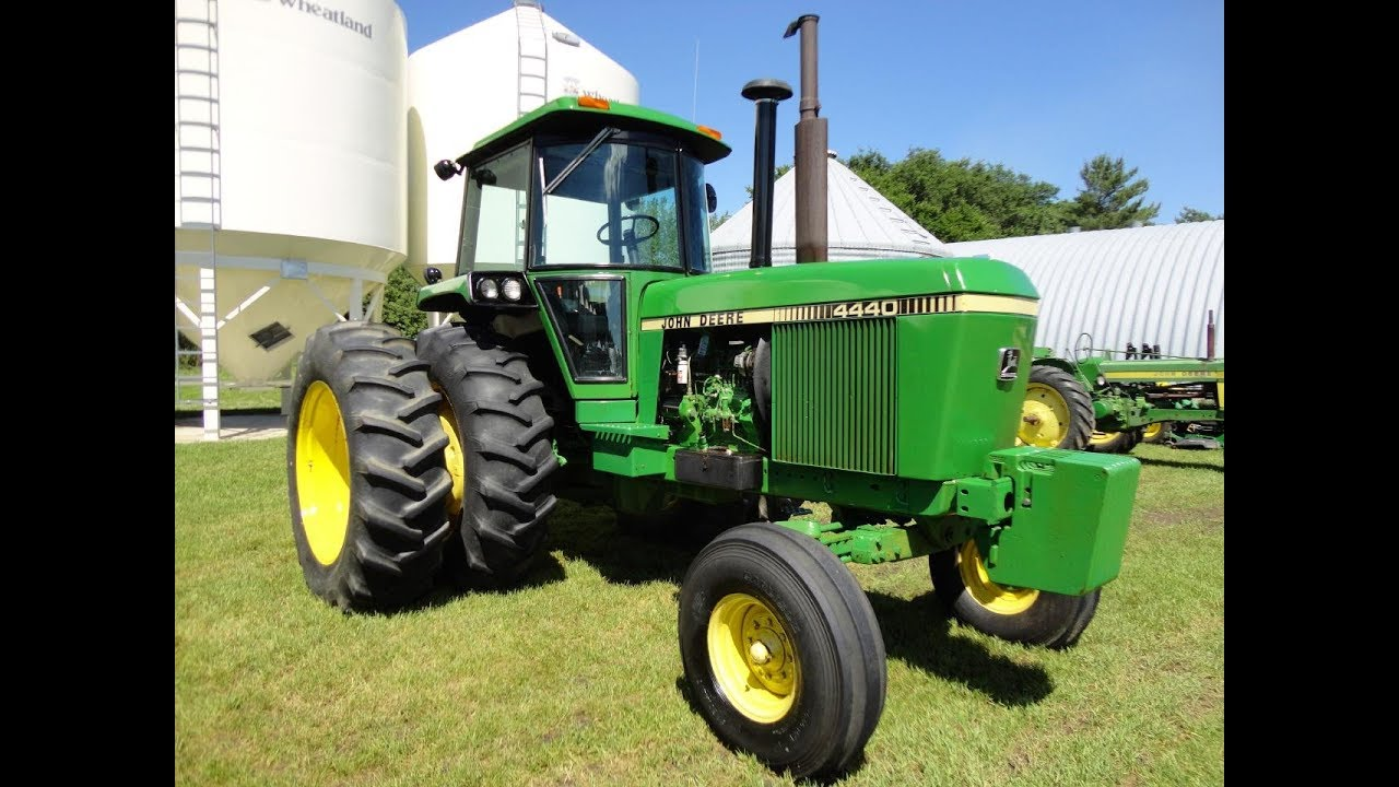 john deere 4440 tractors avg price slipped 3 years in row [ 1280 x 720 Pixel ]