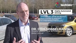 Test-driving BMW