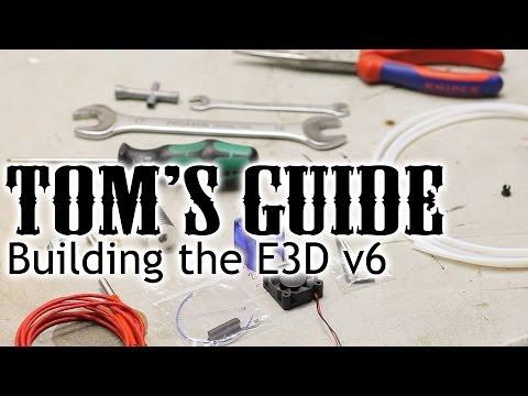 3D printing guides - Assembling the E3D v6 hotend