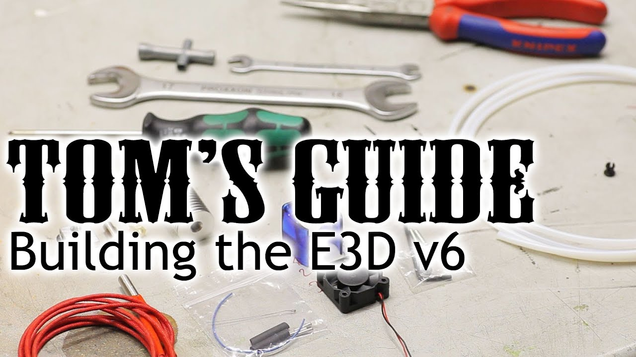 3d Printing Guides Assembling The E3d V6 Hotend Youtube Building Electric Wiring Diagram