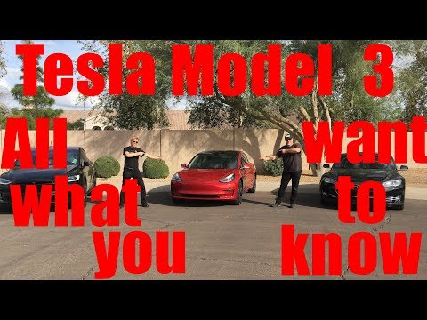 Tesla Model 3 All what you want to know
