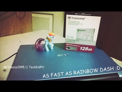 Acer Aspire V5-471 with Transcend SSD370 128GB