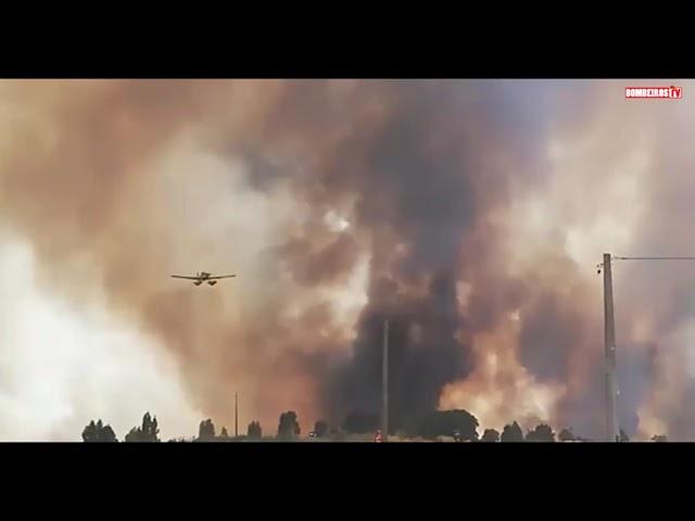 Incêndio em Vila Boim, no Concelho de Elvas