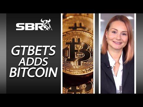 Online Sportsbook GTBets Adds Bitcoin