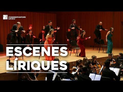 Lyrical Scenes at Liceu Conservatory