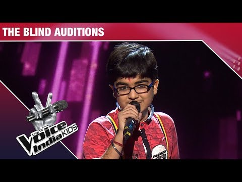 Moksh Gulhati Performs on Slow Motion Angreza | The Voice India Kids | Episode 9