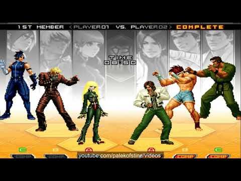 KOF 2002 UM - Wng xi VS Nikolai-保力達