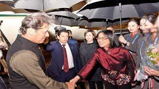 Prime Minister Imran Khan reached China