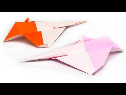 วิธีพับกระดาษเป็นเครื่องบิน แบบบินไกล (Origami Air Plane SSI)