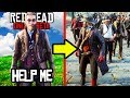 HE REQUESTED HELP AGAINST GRIEFERS SO I BROUGHT AN ARMY In Red Dead Online! RDR2 Funny Moments