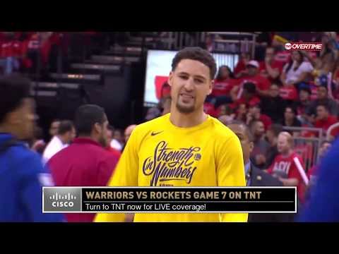 Western Conference Finals Pregame Coverage - Warriors vs. Rockets Game 7