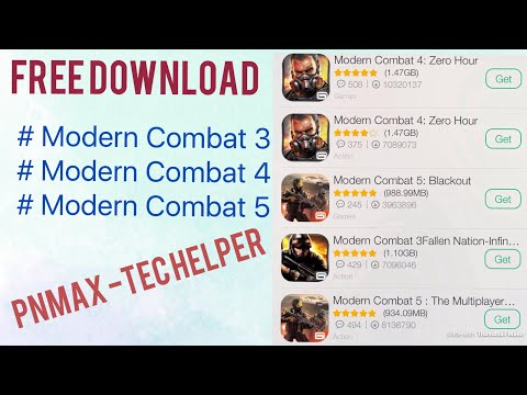 Free Download Modern Combat All Series (MC3, MC4 & MC5)