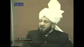 Question & Answer Session 24 November 1984