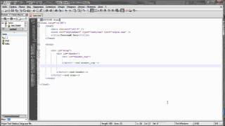 Верстка сайта из PSD в HTML