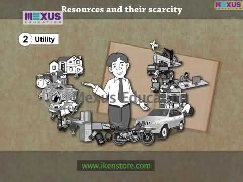 Resources and their Scarcity