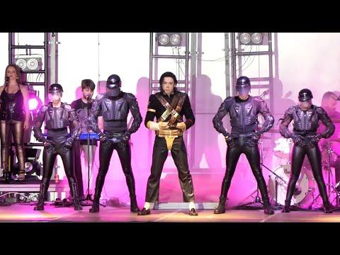 """VÍDEO: El auditorio de Lucena acoge el primer concierto """"post covid"""", un """"tributo"""" a Michael Jackson"""