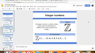 Data Representation - Integer numbers