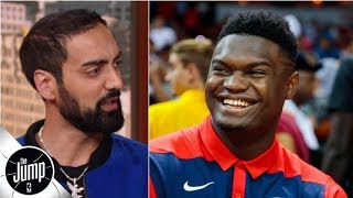Ronnie 2K on how Zion Williamson became the highest rated NBA2K rookie since John Wall | The Jump