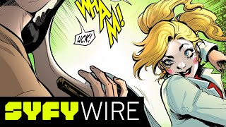 Marguerite Bennett (Josie and the Pussycats) on Bombshells | San Diego Comic-Con 2017 | SYFY WIRE
