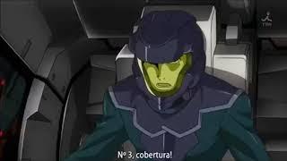 エクシアリペアVSアヘッド部隊【機動戦士ガンダム00】