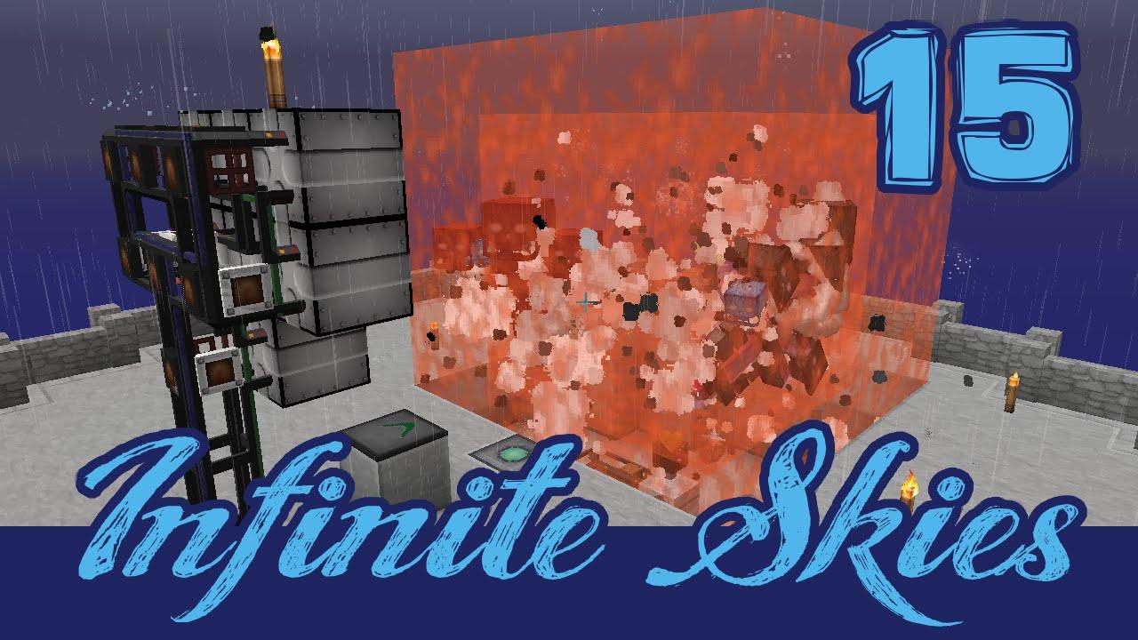 Infinite Skies 15: Many, many Withers! (Modded Minecraft FTB Infinity  Evolved Skyblock)