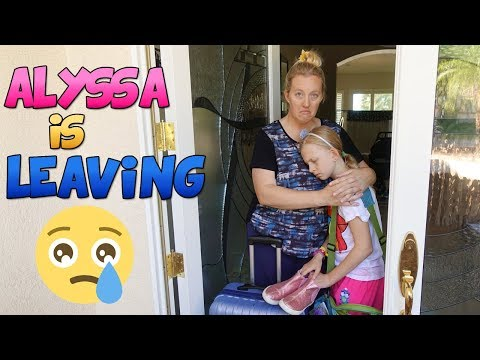 Alyssa is Leaving!  Where is She Going??!!